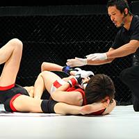 Yuka Tsuji Claims Featherweight Championship