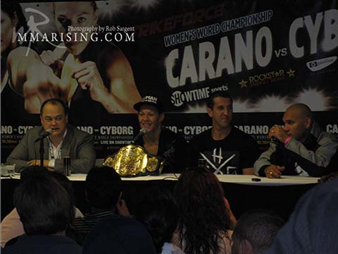 Strikeforce Post-Fight Press Conference