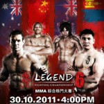 Legend Fighting Championship 6 Play-By-Play & Results