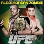 """UFC 163: """"Aldo vs Korean Zombie"""" Live Play-By-Play & Results"""