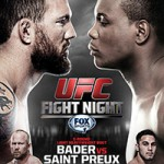 """UFC Fight Night 47: """"Bader vs St. Preux"""" Play-By-Play & Results"""