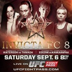 Invicta Fighting Championships 8 Live Play-By-Play & Results
