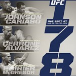"""UFC 178: """"Johnson vs Cariaso"""" Live Play-By-Play & Results"""