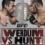 "UFC 180: ""Werdum vs Hunt"" Live Play-By-Play & Results"