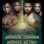 """UFC 187: """"Johnson vs Cormier"""" Live Play-By-Play & Results"""