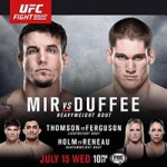 "UFC Fight Night 71: ""Mir vs Duffee"" Live Play-By-Play & Results"