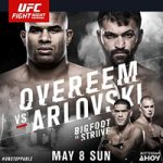 "UFC Fight Night 87: ""Overeem vs Arlovski"" Live Play-By-Play & Results"
