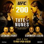 "UFC 200: ""Tate vs Nunes"" Live Play-By-Play & Results"