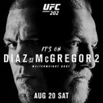 """UFC 202: """"Diaz vs McGregor 2"""" Live Play-By-Play & Results"""