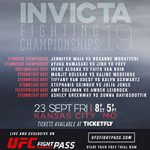Invicta Fighting Championships 19 Live Play-By-Play & Results