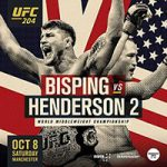 """UFC 204: """"Bisping vs Henderson 2"""" Live Play-By-Play & Results"""