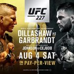 "UFC 227: ""Dillashaw vs Garbrandt 2"" Live Play-By-Play & Results"