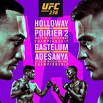 """UFC 236: """"Holloway vs Poirier 2"""" Live Play-By-Play & Results"""