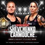 """UFC Fight Night 156: """"Shevchenko vs Carmouche 2"""" Live Results"""