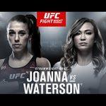 """UFC Fight Night 161: """"Jędrzejczyk vs Waterson"""" Play-By-Play & Results"""