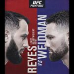 "UFC On ESPN 6: ""Reyes vs Weidman"" Live Play-By-Play & Results"