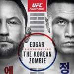 "UFC Fight Night 165: ""Edgar vs Jung"" Live Play-By-Play & Results"
