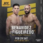 "UFC Fight Night 169: ""Benavidez vs Figueiredo"" Play-By-Play & Results"