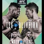 "UFC Fight Night 170: ""Lee vs Oliveira"" Live Play-By-Play & Results"