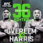 "UFC On ESPN 8: ""Overeem vs Harris"" Live Play-By-Play & Results"
