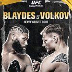 "UFC On ESPN 11: ""Blaydes vs Volkov"" Live Play-By-Play & Results"