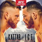 "UFC On ESPN 13: ""Kattar vs Ige"" Live Play-By-Play & Results"