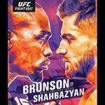 "UFC Fight Night 173: ""Brunson vs Shahbazyan"" Play-By-Play & Results"