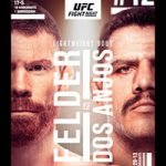 """UFC Fight Night 182: """"Felder vs Dos Anjos"""" Live Play-By-Play & Results"""