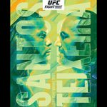 "UFC On ESPN 17: ""Santos vs Teixeira"" Live Play-By-Play & Results"