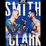 """UFC On ESPN 18: """"Smith vs Clark"""" Live Play-By-Play & Results"""