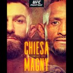 """UFC On ESPN 20: """"Chiesa vs Magny"""" Live Play-By-Play & Results"""