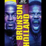 "UFC On ESPN 21: ""Brunson vs Holland"" Live Play-By-Play & Results"