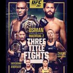 "UFC 261: ""Usman vs Masvidal 2"" Live Play-By-Play & Results"