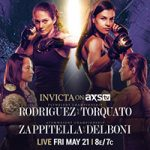 """Invicta On AXS TV: """"Rodriguez vs Torquato"""" Play-By-Play & Results"""