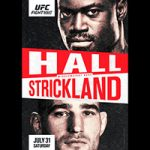 """UFC On ESPN 28: """"Hall vs Strickland"""" Live Play-By-Play & Results"""