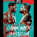 """UFC On ESPN 29: """"Cannonier vs Gastelum"""" Live Play-By-Play & Results"""