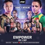 """ONE Championship: """"Empower"""" Live Play-By-Play & Results"""