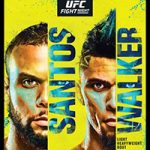 """UFC Fight Night 193: """"Santos vs Walker"""" Live Play-By-Play & Results"""